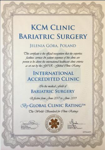 Bariatria w KCM Clinic