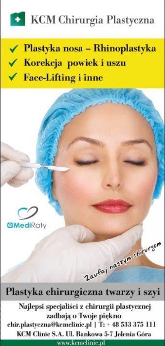Chirurgia plastyczna twarzy i szyi
