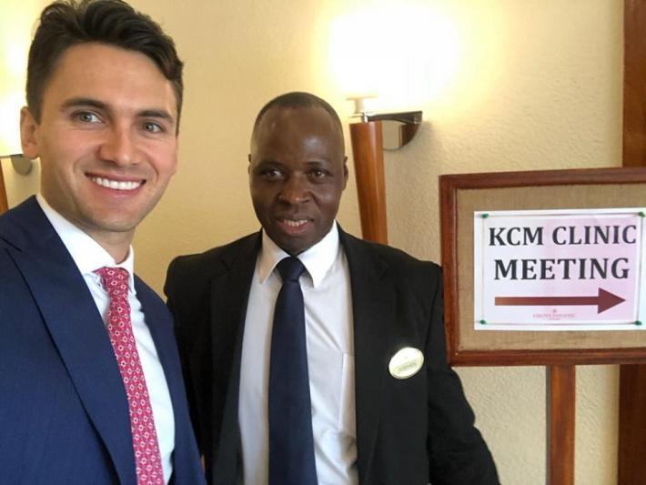 Wizyta w Kenii, Nairobi Hospital