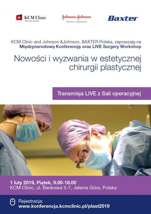 """I Doroczna Konferencja  """"Nowości i wyzwania w estetycznej chirurgii plastycznej"""""""
