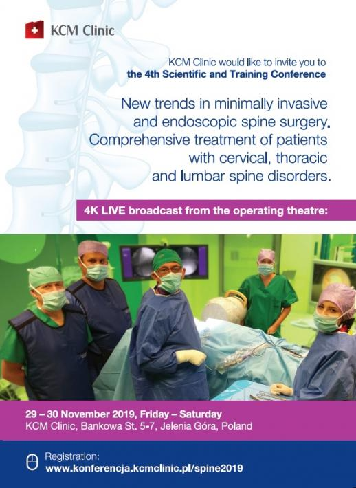 KCM Clinic would like to invite you to the 4th Scientific and Training Conference.